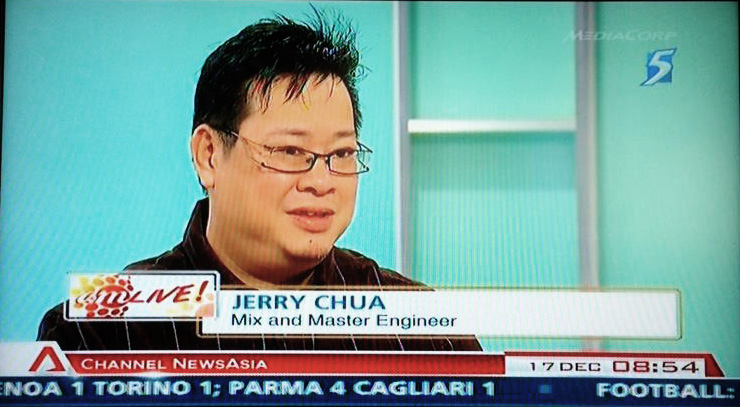 Interview With CNA 2012