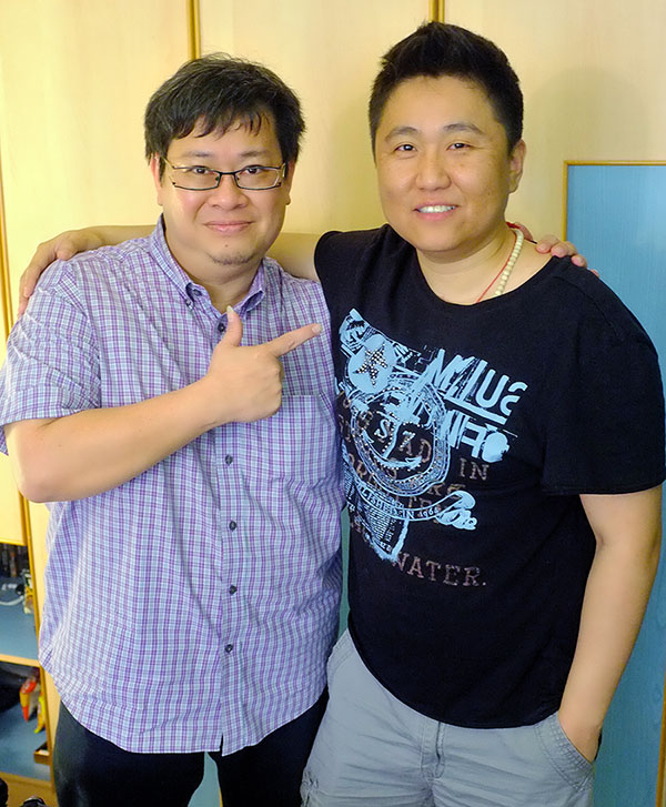 With Chinbat, Singer, Producer, Arranger, Producer. He used to do Music Arrangement for Aretha Franklin!